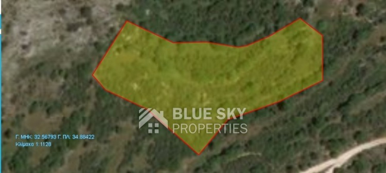 Land for Sale in Choulou, Paphos, Cyprus