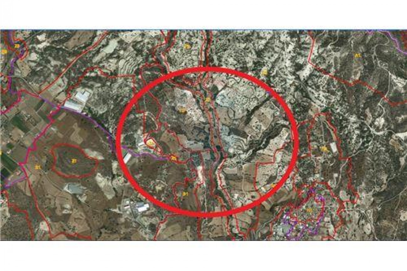 Land for Sale in Pentakomo, Limassol, Cyprus