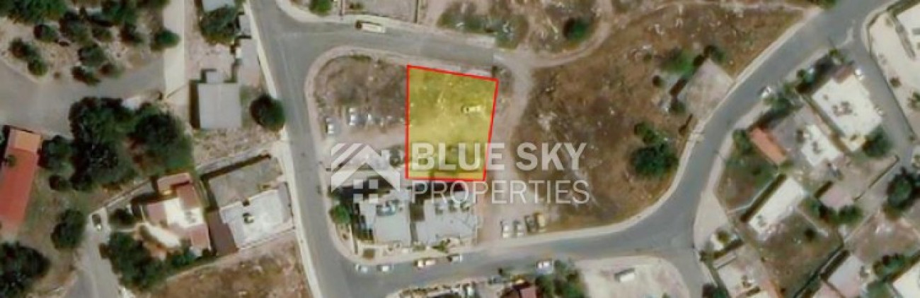 Land for Sale in Geroskipou, Paphos, Cyprus