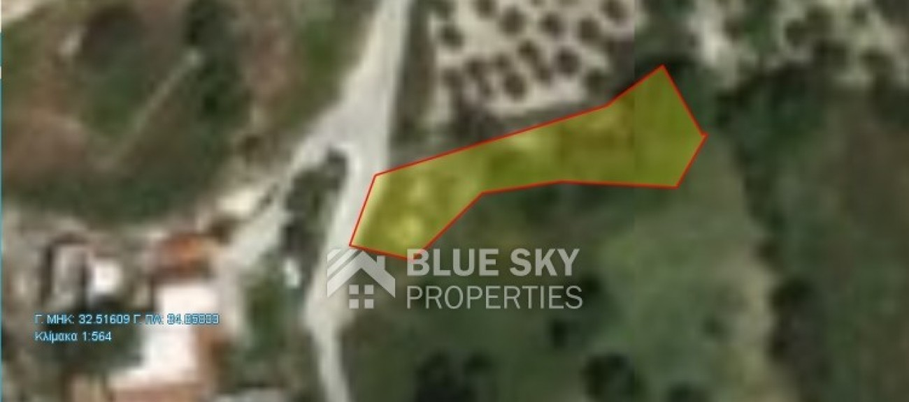 Land for Sale in Letymvou, Paphos, Cyprus